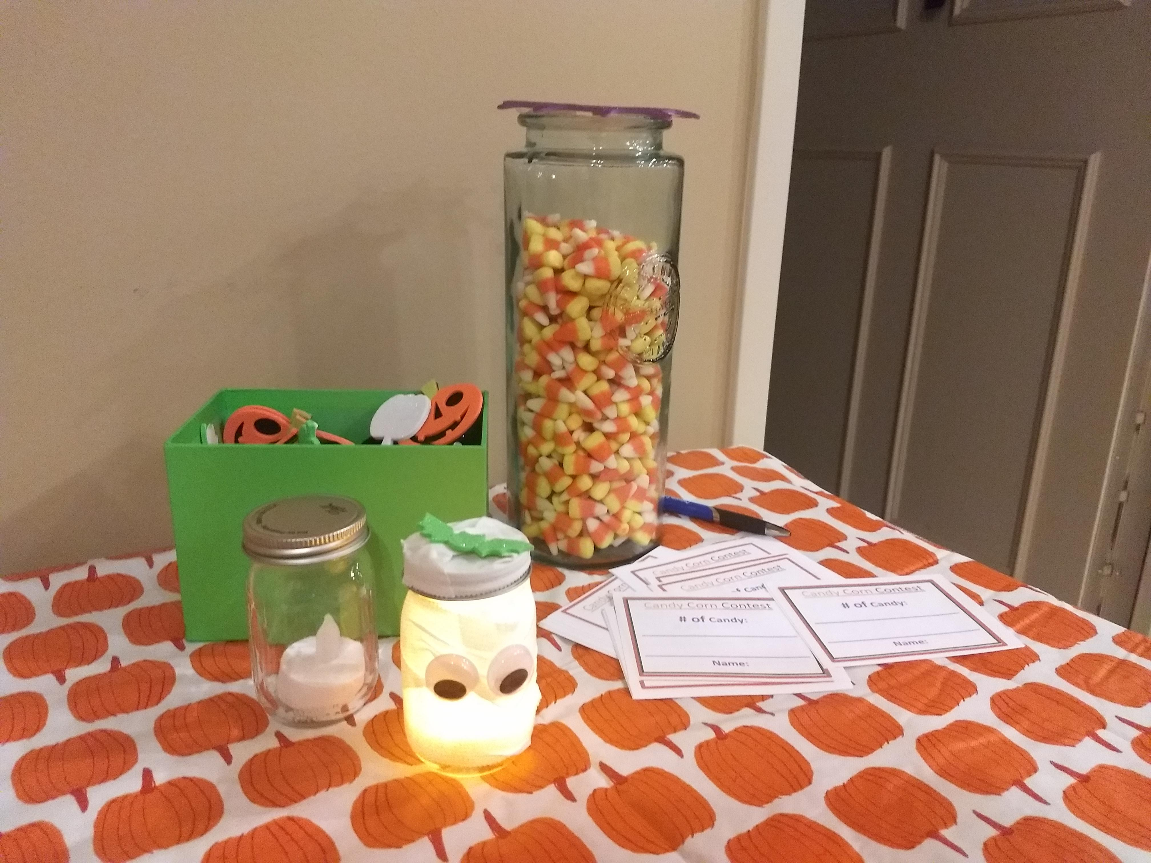 Lantern and Candy Corn